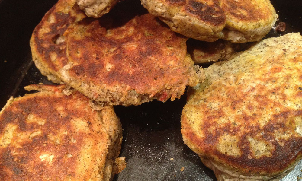 Herbed Buckwheat Fritters